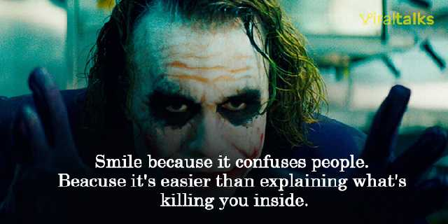 best joker quotes that might intimidated batman too